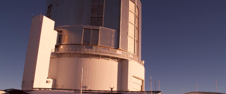 地上望遠鏡による観測