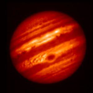 木星8.8um赤外線画像 (May 18, 2017)